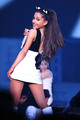 Ariana performing at her Honeymoon Tour *-*
