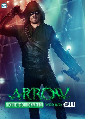 Arrow - Superhero Fight Club - Promo Pics
