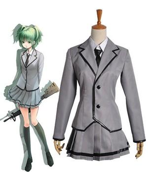 Assassination Classroom Kunugigaoka Junior High School Class 3-E Girl's School Uniform Cosplay Costu