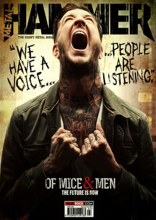 Of mice and men band images austin carlile at hammer - Austin carlile wallpaper ...