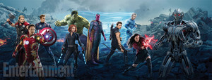 Avengers: Age of Ultron - Cast Promotional Poster