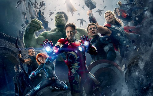 The Avengers karatasi la kupamba ukuta entitled Avengers: Age of Ultron