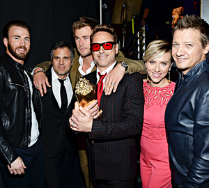 Avengers Cast MTV Movie Awards 2015