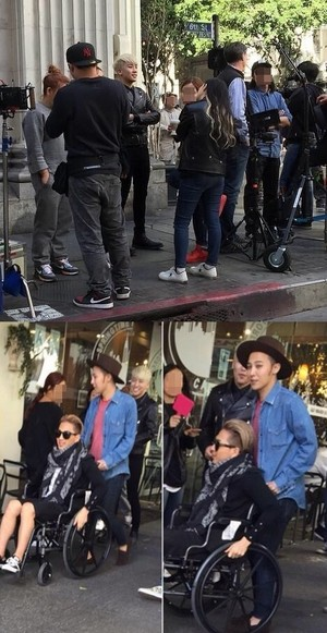 BIGBANG Spotted in LA Filming for New Comeback MV