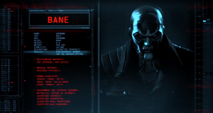 Bane Character Profile