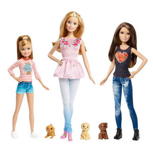 Barbie & Her Sisters: The Great کتے Adventure Doll Case