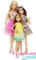 búp bê barbie & Her Sisters: The Great cún yêu, con chó con Adventure Barbie, Skipper, Stacie 3-Pack