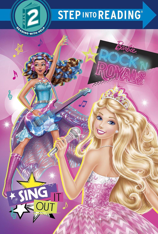 Barbie in Rock'n Royals Book (HQ)