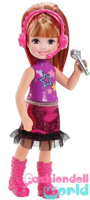 Barbie in Rock'n Royals Chelsea Doll