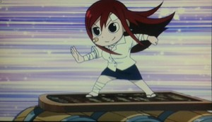 Barrel Surfing Erza!
