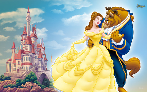 Beauty and the Beast wallpaper titled Beauty and Beast