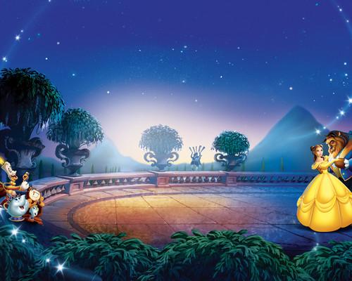 Die Schöne und das Biest Hintergrund called Beauty and Beast