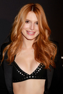 Bella Thorne attends the 2015 New York Spring Spectacular in NYC 03/26/15.