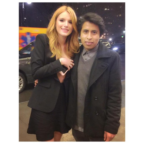 Bella Thorne Hintergrund containing a business suit and a well dressed person titled Bella Thorne