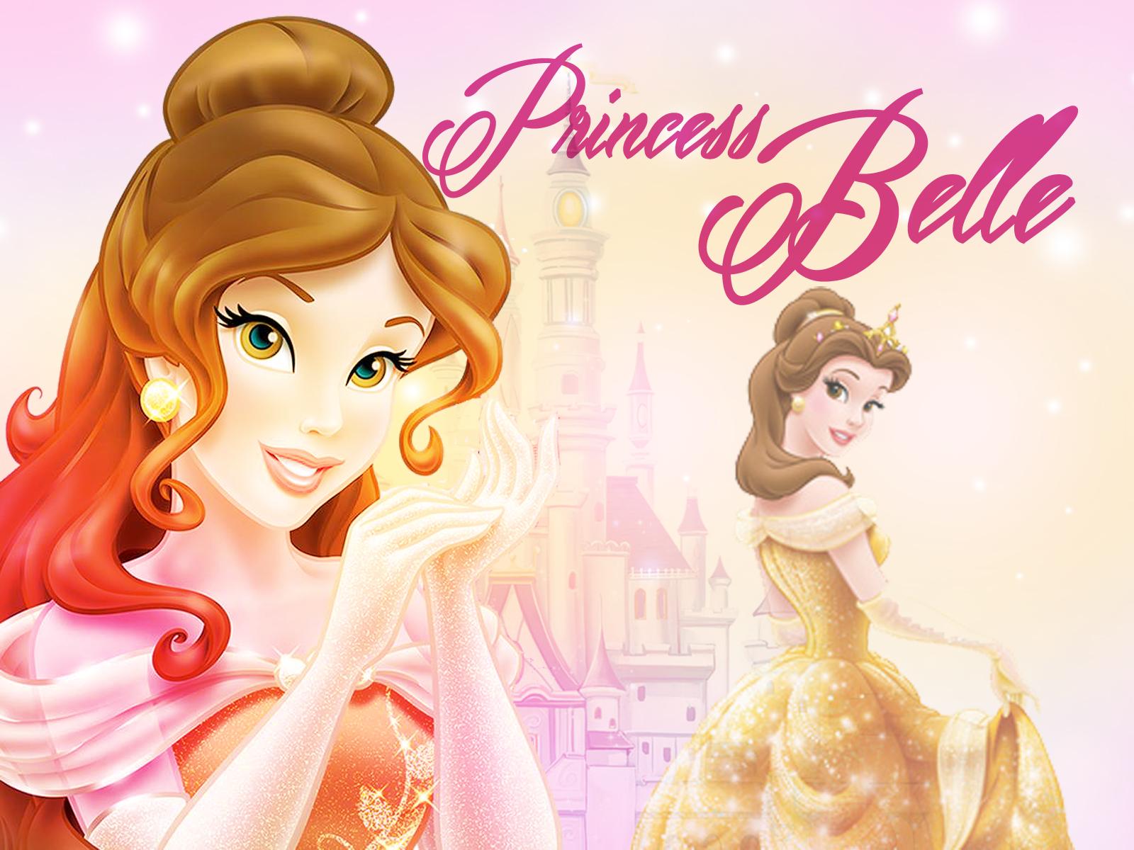 belle wallpaper disney princess wallpaper 38366056 fanpop. Black Bedroom Furniture Sets. Home Design Ideas