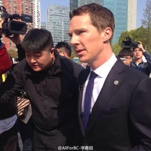 Ben visiting China - MG GS