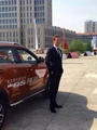 Ben visiting China - MG GS - benedict-cumberbatch photo