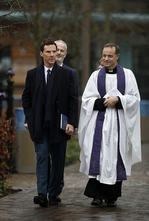 Benedict Cumberbatch - Richard III Burial