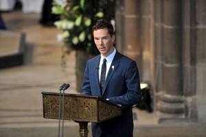 Benedict Cumberbatch - Richard III Burial