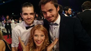Parte de la familia (Benjamin,Felipe,Luisana) #Telefe25Anos