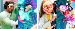 Big Hero 6 characters + first and last appearances