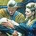 Bjorn, Lagertha and Baby Siggy