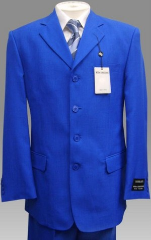 Blue Mens Dress 《金装律师》