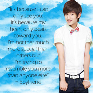 Boyfriend - Love Style (quotes)