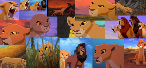 The Lion King 2:Simba's Pride wallpaper possibly with anime called Brave Kiara
