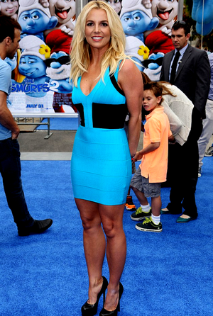 Britney Spears at Premier