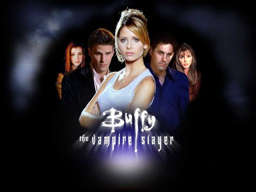 Buffy the Vampire Slayer achtergrond probably containing a portrait entitled Buffy the Vampire Slayer