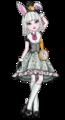 Bunny blanc, blanco