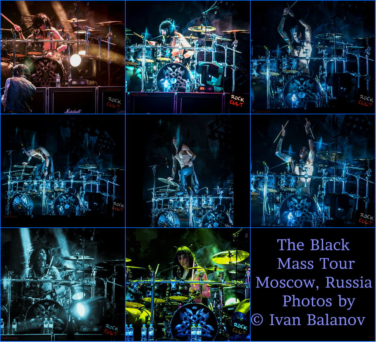 CC…The Black Mass Tour ~Moscow, Russia