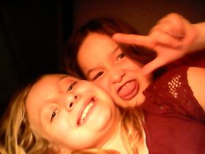 Caitie and Rose