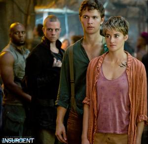 Caleb and Tris