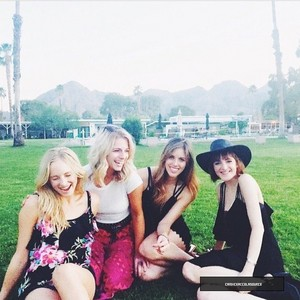 Candice at her friends engagement (3/21/15)