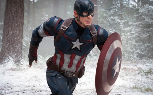 The Avengers wallpaper possibly with a shield and a tabard entitled Captain America