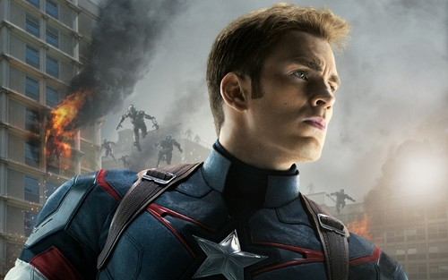 The Avengers-Los Vengadores fondo de pantalla probably with a fuego titled Captain America