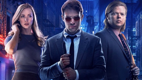 Daredevil (Netflix) 壁紙 probably containing a business suit titled Cast of Season One