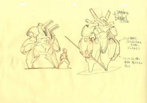 Character Designs from Big Hero 6 by Shigeto Koyama