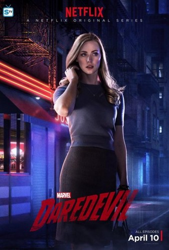 Daredevil (Netflix) 壁紙 probably containing a leotard, tights, and a ビスチェ entitled Character Posters
