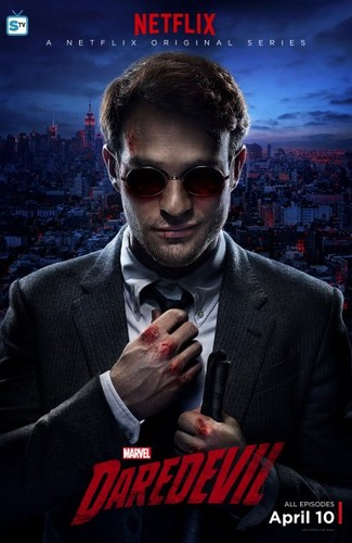 Daredevil (Netflix) 壁紙 containing a business suit, a suit, and sunglasses titled Character Posters