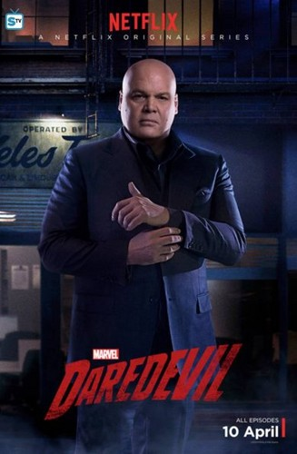 Daredevil (Netflix) 壁紙 containing a business suit, a well dressed person, and a suit called Character Posters