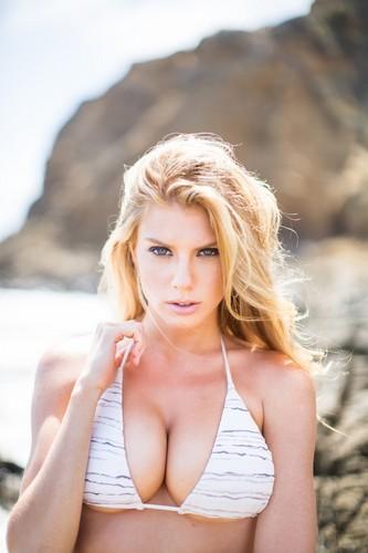 charlotte McKinney wolpeyper with a bikini called charlotte McKinney