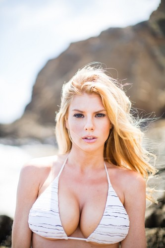 charlotte McKinney wolpeyper possibly containing a bikini and skin called charlotte McKinney