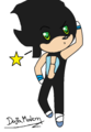 Chibi Dusan the Hedgehog
