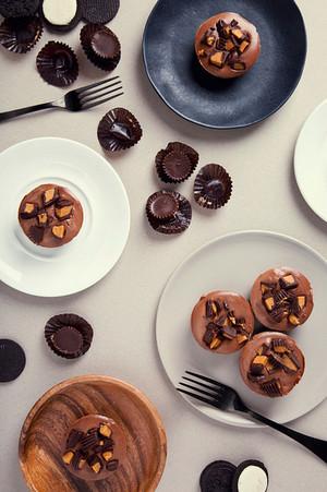 chocolate bolo de copo