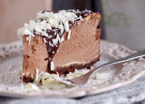 cokelat mousse Cake