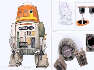 Chopper Concept Art Details