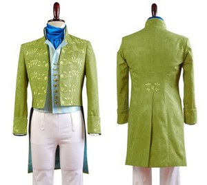 Золушка 2015 Film Prince Charming Attire Outfit Cosplay Costume